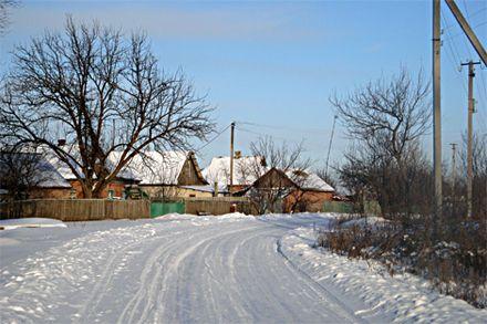 Зима на селі