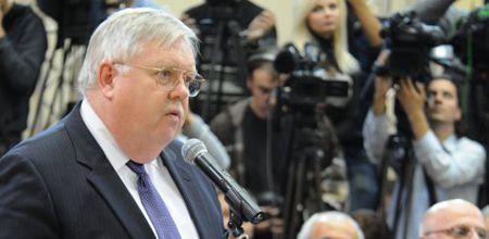 Посол США Джон Теффт