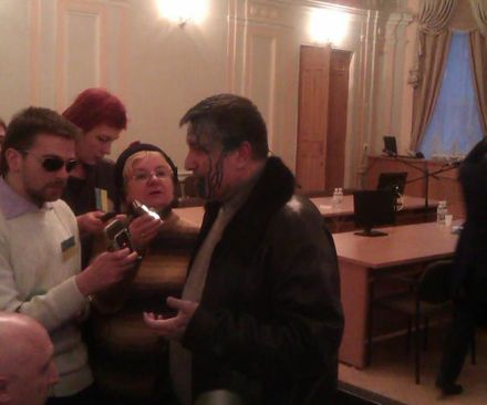 Арсен Аваков, 18 січня 2012, зала суду