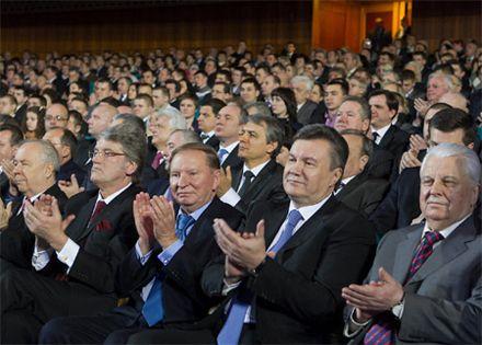 Ющенко, Кучма, Янукович, Кравчук / / Фото: Пресс-служба Президента