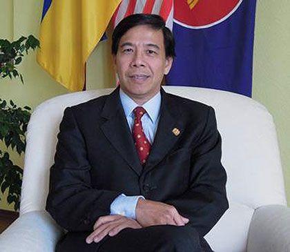 Чуа Теонг Бана, Посол Малайзии в Украине