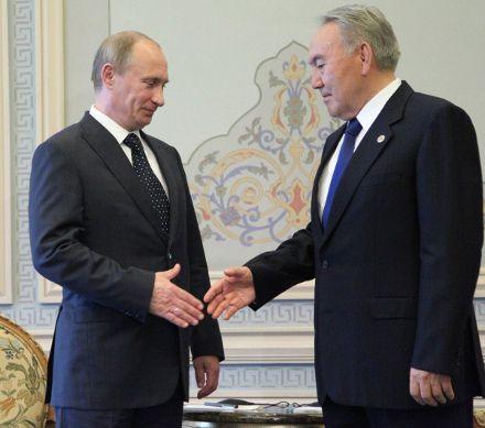 Владимир Путин и Нурсултан Назарбаев / Фото: quorum.kz