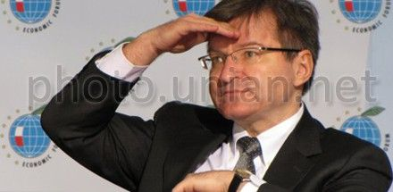 Григорий Немыря и Фюле обсудили евроинтеграцию