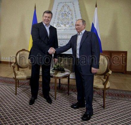 Янукович вспомнил о встрече с Путиным