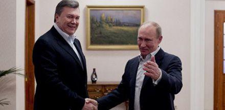 Янукович і Путін, візит 4.03.13