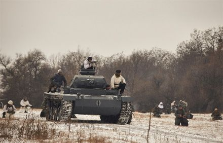 Бій під Соколовим 1943 року, реконструкція 9 березня 2013 р.