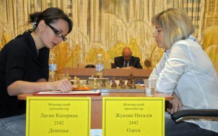Екатерина Лагно и Наталия Жукова