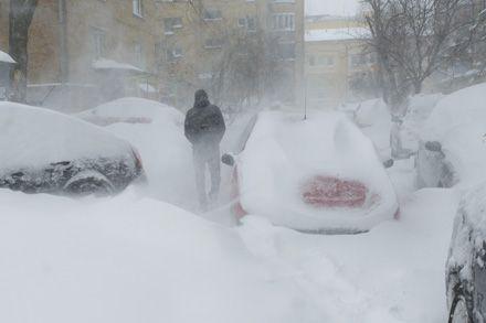 Завірюха, Київ, 23 березня 2013. Фото Андрія КРАВЧЕНКА