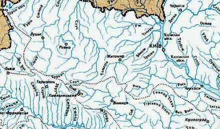 В районе Западного Буга могут быть рекордные подтопления / Фото: Wikipedia.org