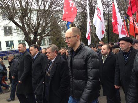 """Оппозиции не удалось поднять Украину / Фото : """"Батьківщина"""""""