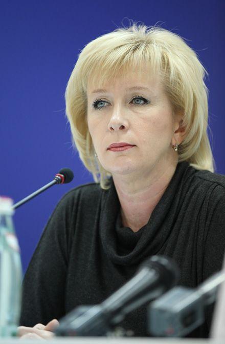 Голова правління Мегабанку Олена Жукова