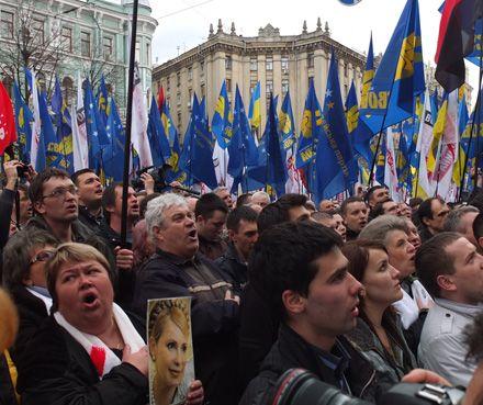 Акція Вставай, Україно!, Харків, 12 квітня 2013. Фото Володимира КРАВЧЕНКА