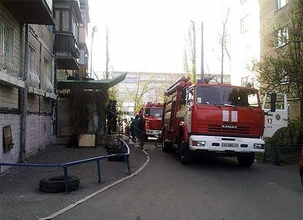 пожар / Фото: «Магнолия-ТВ»