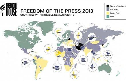 Украина находится среди стран, которые идут авторитарным курсом, говорится в отчете