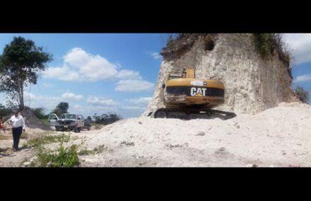 Пирамиду разрушили, чтобы добывать щебень / Фото: foxnews