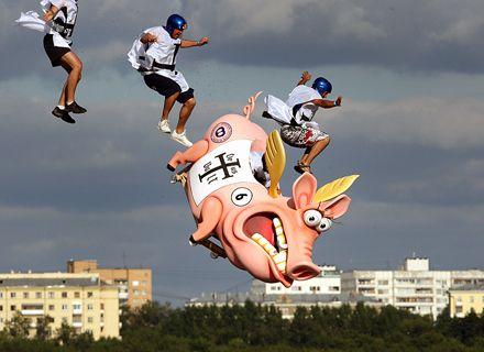 Red Bull Flugtag / Фото: netlore.ru