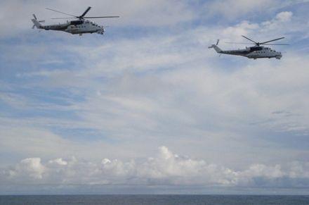2 новых Ми-24 привезли в Конго  / Фото Миноборони