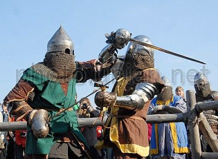 историческое фехтование, рыцари
