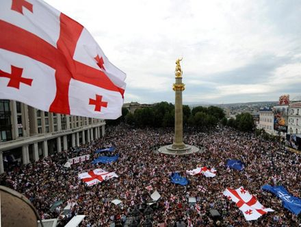Грузия празднует свою независимость / Фото: vestikavkaza.ru