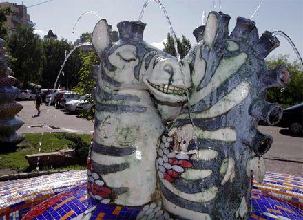 скульптура зебр / Фото: «Сегодня»