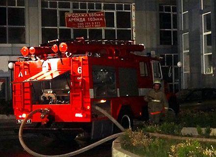 пожар на Шулявке / Фото: пресс-служба ГУ ГСЧС Украины в Киеве