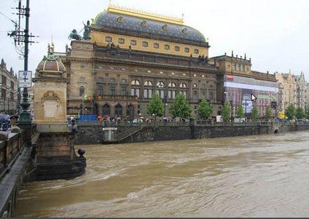 В Праге не приходит наводнение / Фото с Facebook Martin Hund
