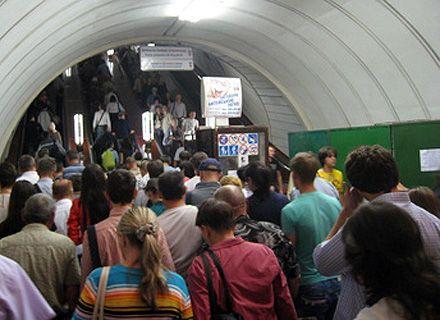 ремонт эскалатора в киевском метро / Фото: «Сегодня»