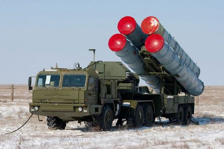 The S-400 Triumf surface-to-air missile system