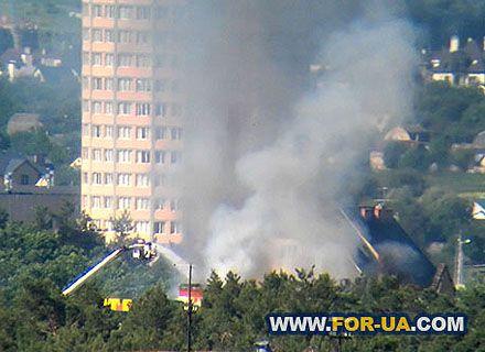 пожар в гостинице / Фото: for-ua.com
