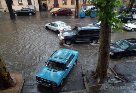 Буря в Одессе