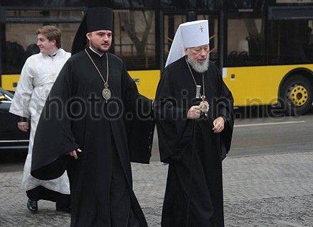 митрополит Владимир и его секретарь Александр Драбинко
