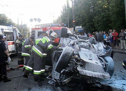 авария с сбушниками / Фото: mns.gov.ua
