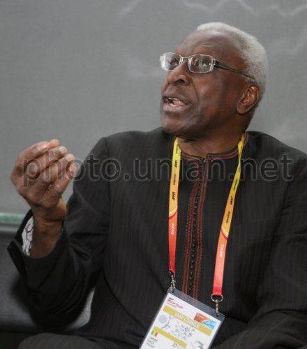 президент Международной ассоциации легкоатлетических федераций (IAAF) Ламин Диак