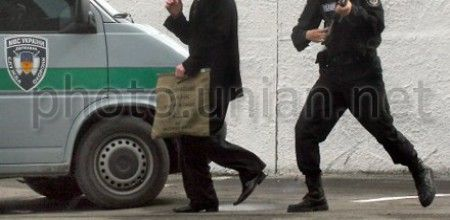 Militia detained the person involved in committing an attack on a cash-in-transit van