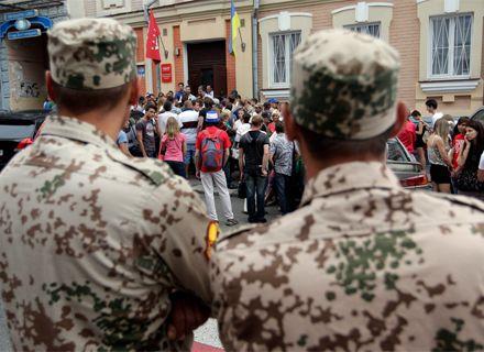 митинг под офисом УДАР / Фото: klichko.org