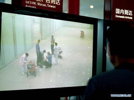 В результате взрыва пострадал только подрывник / Фото: Сіньхуа
