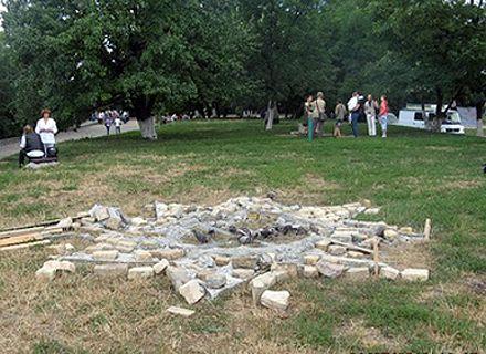 памятник Перуну / Фото: Сегодня