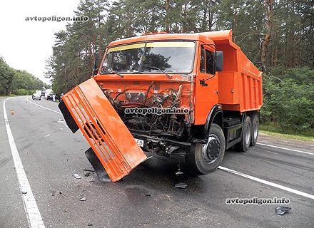 авария с Камазом / Фото: Автополигон