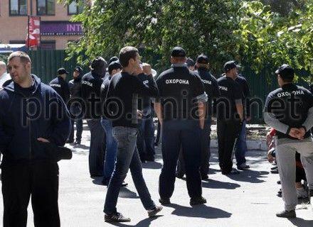 акция против застройки сквера на Тверской