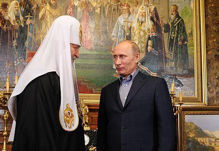Патриарх Кирилл верит в  прочность духовного фундамента