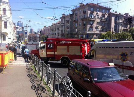 взрыв в парке Шевченко / Фото: Корреспондент.net