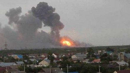 Серия взрывов на складе боеприпасов в Новобогдановке