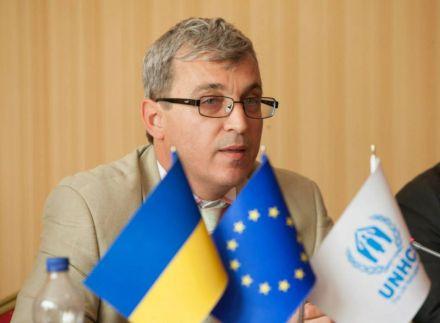 Руководитель регионального представительства УВКБ ООН в Украине, Белоруссии и Молдове Олдрих Андрисек