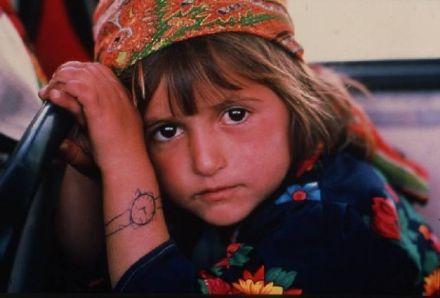 ребенок из Центра для беженцев