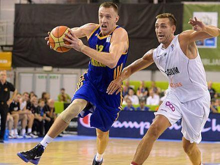 Украинская сборная вышла в лидеры Евробаскета-2013, фото ТСН