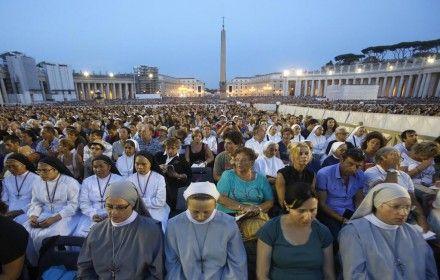 Молебен за мир в Сирии, Ватикан