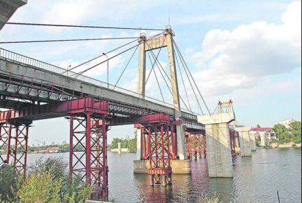Рыбальский мост / Фото :  Г.Салай / Сегодня