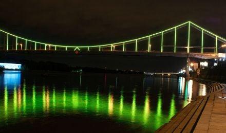 Пішохідний міст, фото з офіційного сайту КМДА