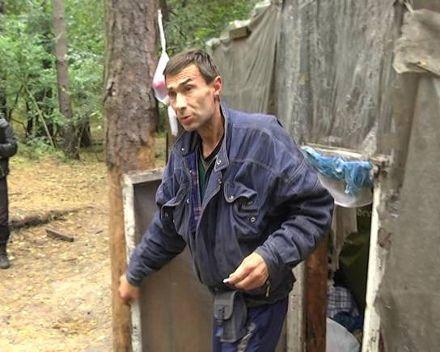 Владимир восемь лет прожил в лесу / Фото: МВД