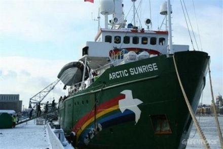 Судно Greenpeace / Фото : Greenpeace
